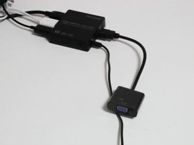 HDMI-VGA変換アダプタ